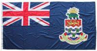 5yd 180x90in 460x230cm Cayman Islands blue ensign (woven MoD fabric)