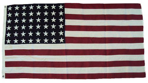 2.5yd 90x45in US 48 Star Flag (British size)