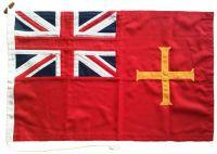 68x45cm Guernsey ensign (woven MoD fabric)