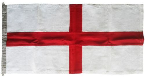 1yd 36x18in 91x45cm England St George Linen
