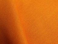 Orange woven polyester