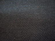 Black woven polyester