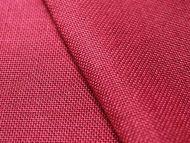 Crimson woven polyester