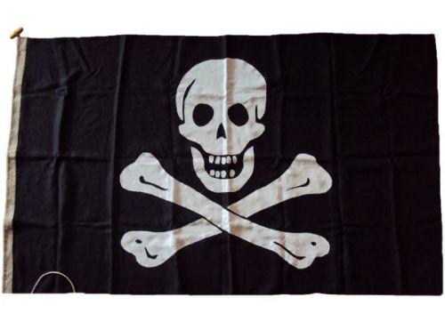 5x3ft 60x36in 152x91cm Jolly Roger Linen Cloth