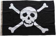 150x100cm Authentic Jolly Roger (linen cloth)