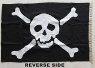 18x12in 46x31cm Authentic Jolly Roger (linen cloth)