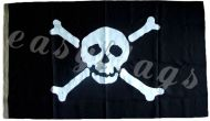 1yd 36x18in 91x45cm Authentic Jolly Roger