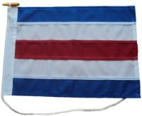 36x36in 91x91cm Charlie C signal flag US Navy Size 7