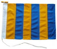 21x18in 53x46cm Golf G signal flag British Navy Size