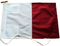 24x18in 60x45cm Hotel H signal flag US Navy Size 2