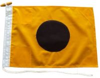 24x18in 60x45cm India I signal flag US Navy Size 2