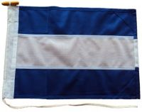 30x24in 76x61cm Juliet J signal flag British Navy Size