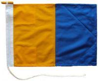 40x48in 102x122cm Kilo K signal flag British Navy Size