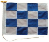15x12in 38x30cm November N signal flag US Navy Size 0 & British Navy Size