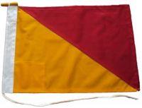 40x48in 102x122cm Oscar O signal flag British Navy Size