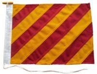 18x12in 45x30cm Yankee Y signal flag